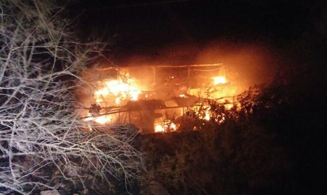 תביעה שהושגה על אירוע שריפה ללקוח ללא ביטוח מבנה ותכולה